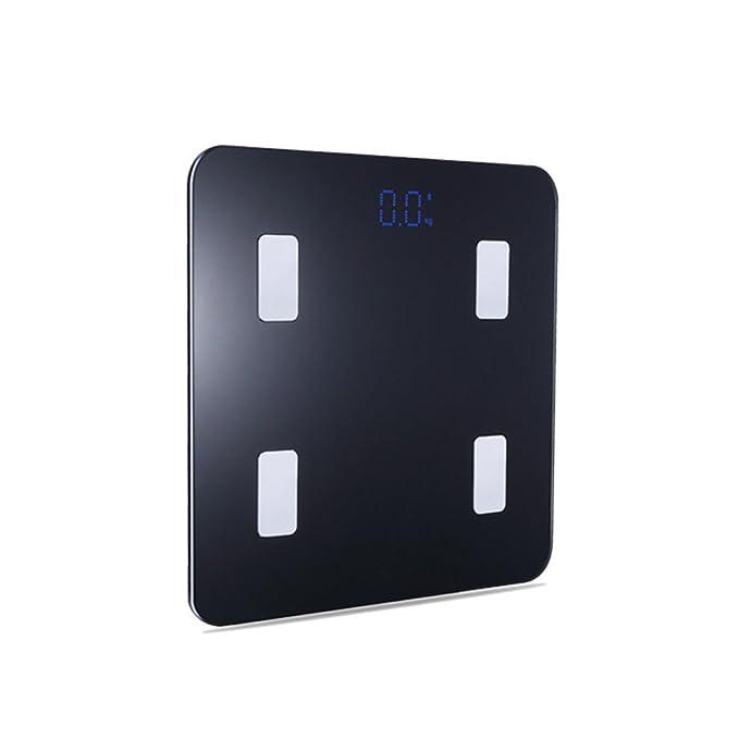 Cuerpo Inteligente Bluetooth Básculas Para Adultos,Black: Amazon.es: Hogar