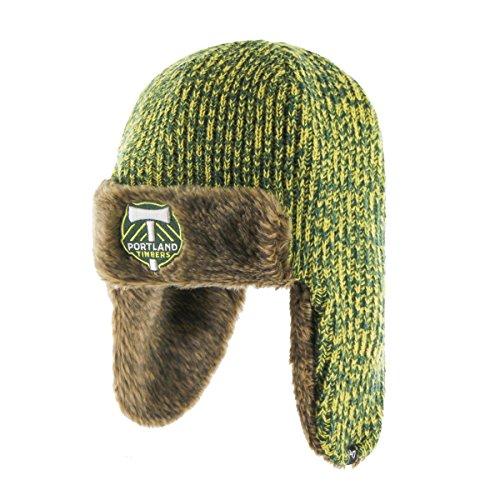 '47 MLS Portland Timbers Orca Sherpa Knit Beanie, One Size, Dark Green