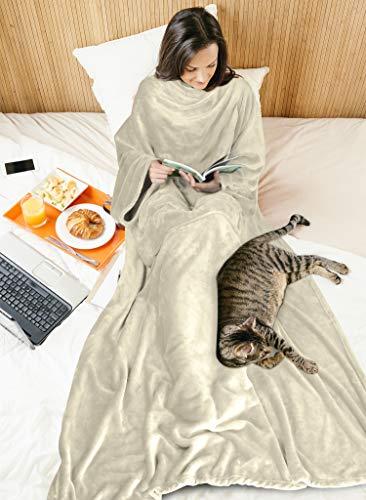 Fleece Wearable Blanket with