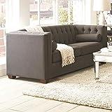 Coaster 504901 Home Furnishings Sofa, Charcoal