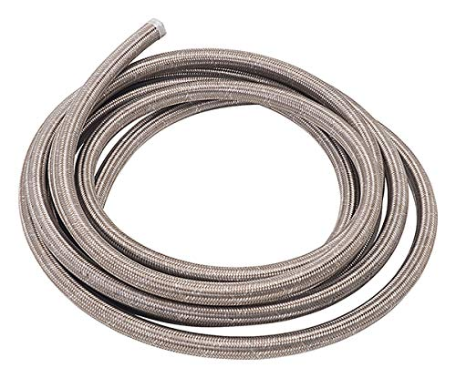 - Russell 632160 ProFlex -10AN Stainless Steel Braided Hose - 6 Feet