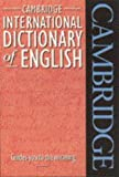 Cambridge International Dictionary of English, , 0521484693