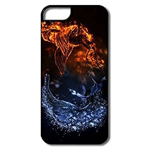 Fire Ice Popular Plastic Case For IPhone 5/5s