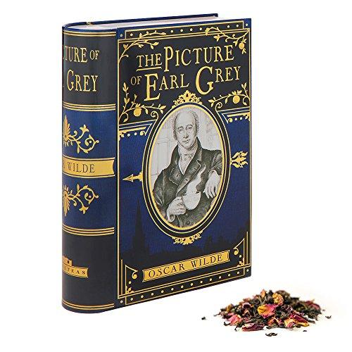 NovelTea Tins | The Picture of Earl Grey by Oscar Wilde | Tea Box Tin With Earl Grey Tea Inside