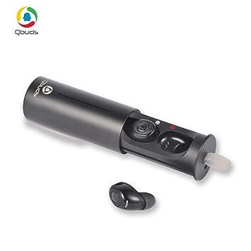 Auriculares inalámbricos con Bluetooth y auriculares, con controladores de grafeno dinámicos y funda de carga