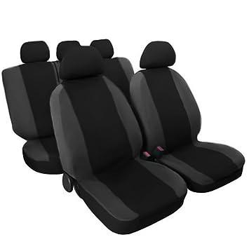 dunkel grau Lupex Shop Trap/_Gs Gesteppte Baumwolle Auto-Sitzbez/üge