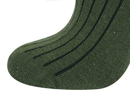 Mysocks Unisexe uni genou haut chaussettes 3