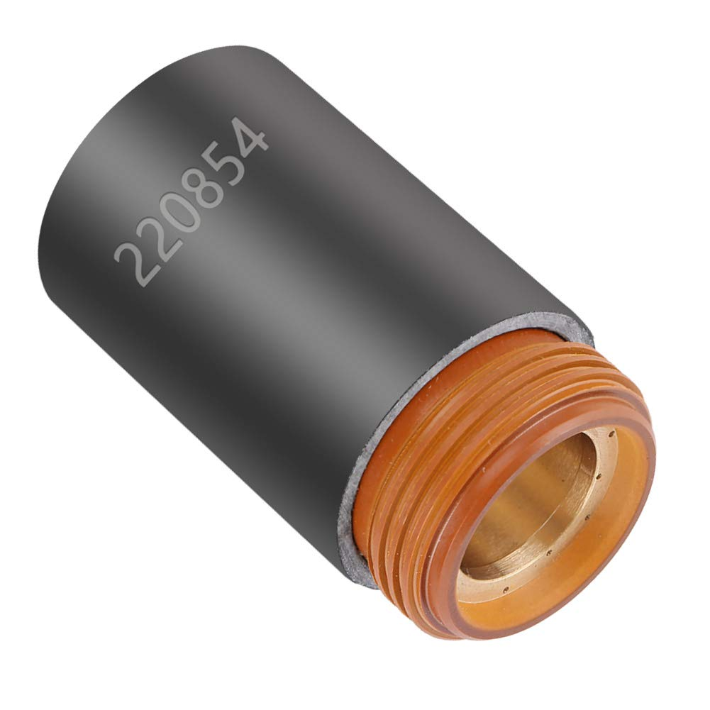 1 pieza 220854 Antorcha de corte de cortador de plasma Tapa de retenci/ón de consumibles para el kit de soldadura MAX105 Tapa de retenci/ón de corte de plasma Tapa de retenci/ón de antorcha de plasma