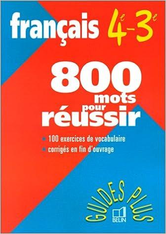 Liberez Les Livres A Telecharger Francais 4eme Et 3eme 800
