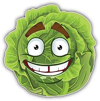 """Cabbage In Love Funny Cute Cartoon Car Bumper Sticker Decal 5/"""" x 5/"""""""