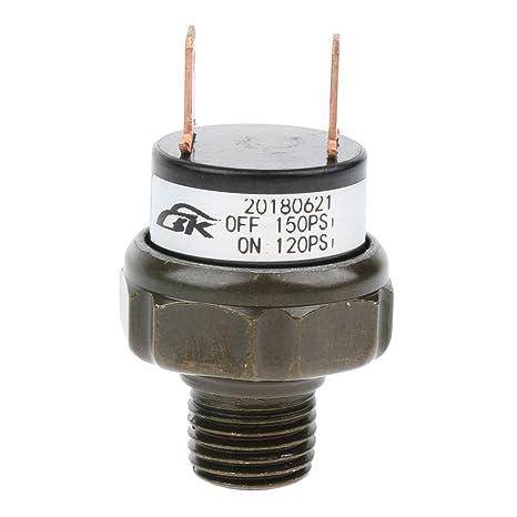 Sharplace Compresores para Aplicaciones de Bocina de Aire y Suspensión de Auto - Negro 120-