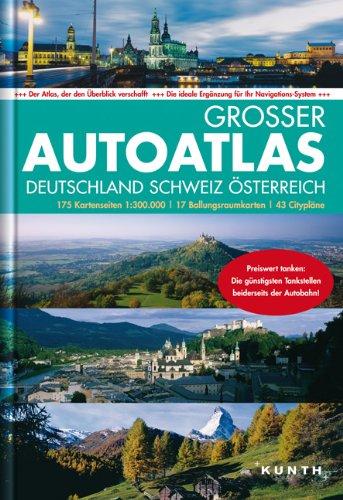 Großer Autoatlas  Deutschland/Schweiz/Österreich 2013/2014 1:300.000