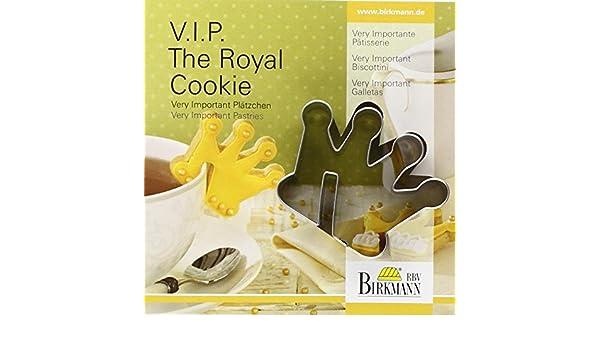 Amazon.com: Plätzchenausstechform V.I.P. The Royal Cookie: Home & Kitchen