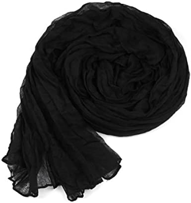 LC Boutique Girls Fashion Solid Crinkle Scarf for ages 9-Adult