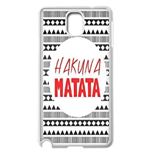 High Quality Phone Back Case Pattern Design 15Best Wishes - Hakuna Matata Quotes- For Samsung Galaxy NOTE4 Case Cover