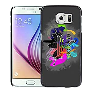 Fashionable And Beautiful Designed Case For Samsung Galaxy S6 With Adidas 10 Black Phone Case