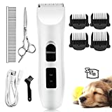 Nicewell Cat Shaver Dog Clippers Grooming Set, Low Noise Electric Pet Grooming