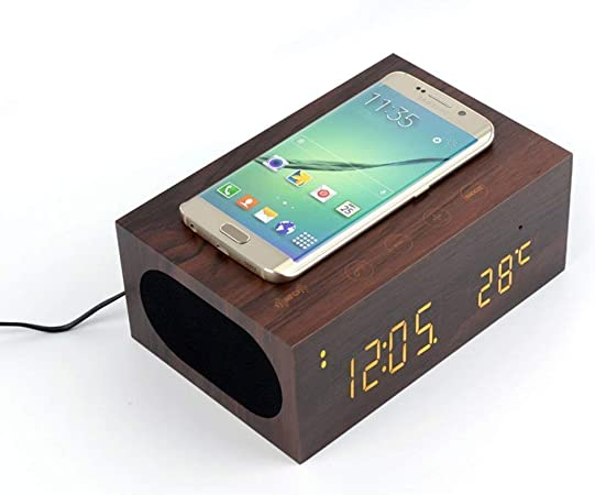 Haut Parleur Bluetooth Bois Induction iPhone 6s