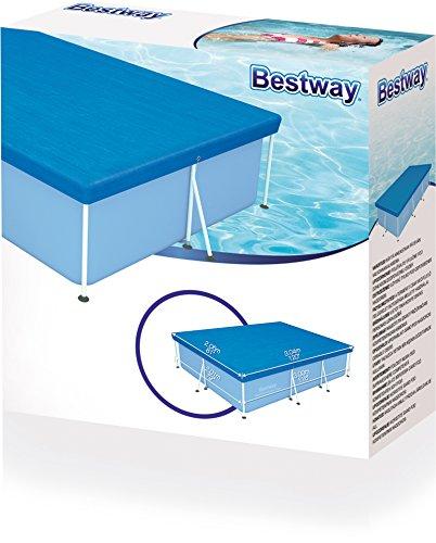 bestway abdeckplane f r frame pool 300x201cm ebay. Black Bedroom Furniture Sets. Home Design Ideas