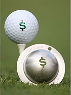 product image for Tin Cup Nassau Golf Ball Marking Stencil, Steel