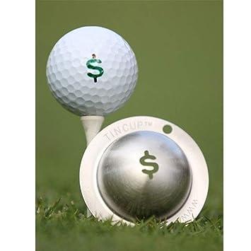 Tin Cup Nassau Pelota de Golf Marca Plantilla, Acero: Amazon.es ...