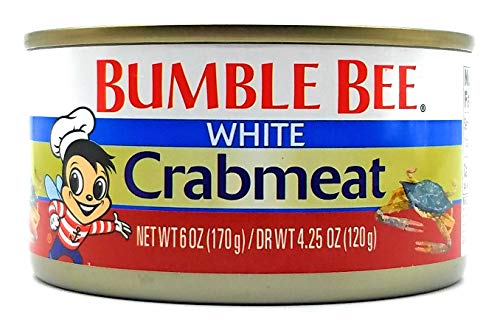 BUMBLE BEE Premium Select White CRABMEAT 6oz 3 Cans