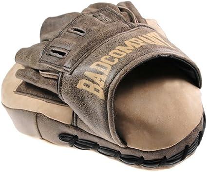 Bad Company Boxpads Makiwara Straight I Kunstleder Schlagpolster I Gro/ße Pratze f/ür den Kampfsport I Einzeln oder als Set