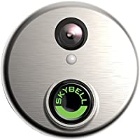SkyBell (SH02300SL) HD Silver WiFi Video Doorbell