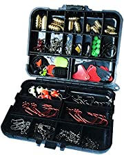 128 Sets of Fake Bait Fishing Accessories Combination Copper Sink Lead Hook