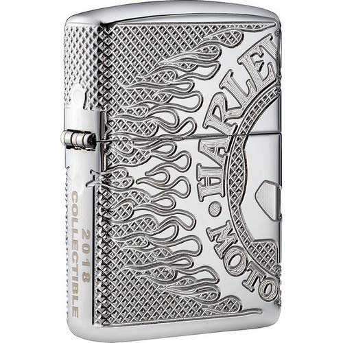 Zippo Harley-Davidson 2018 Collectible Pocket Lighter