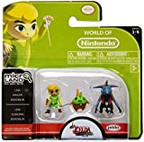 zelda figures - World of Nintendo, Micro Land, The Legend of Zelda: Windwaker HD, Link, Makar, and Bokoblin Figures