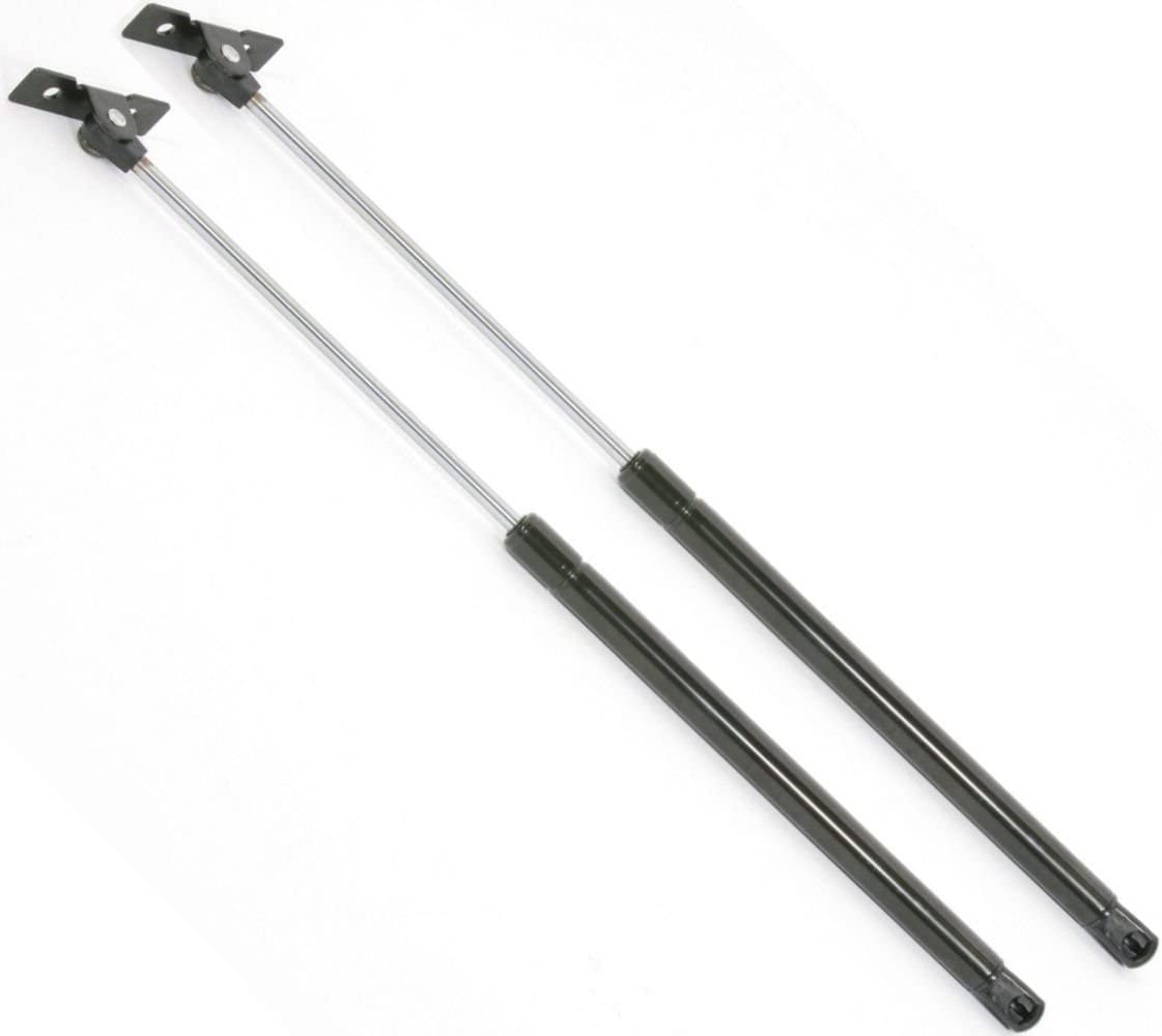Set of 2 Hood Lift Support Strut Pair Prop Rod Arm Gas Shock Damper Replacement