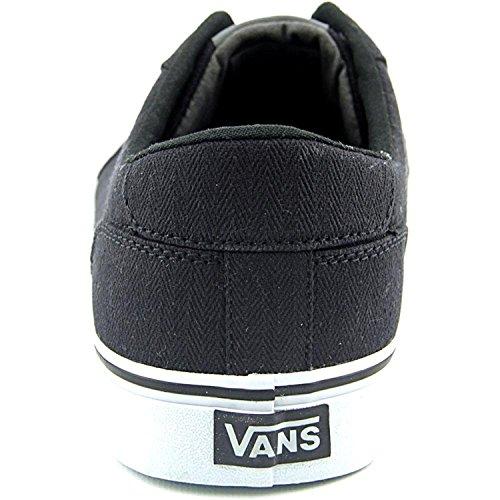 Vans Mens Skishop Skateboard Chaussure (textile) Noir / Glacier Gris