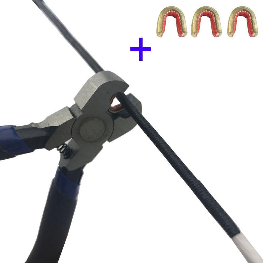 ZSHJG Pinces à pointe nock avec 3 points d'ancrage en laiton SHJG usine