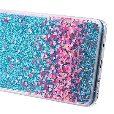 Casos hermosos, cubiertas, Amar pattern pc estrella caja del teléfono arenas movedizas estereoscópica para la galaxia Nota 3/4/5 (colores surtidos) ( Color : Azul , Modelos Compatibles : Galaxy Note 3 Azul