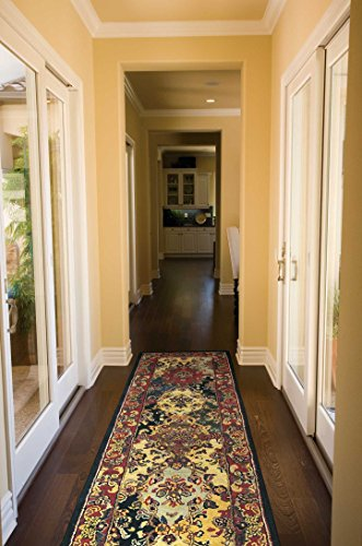 (IH23) Multicolor Runner Area Rug, 2-Feet 3-Inches by 7-Feet 6-Inches (2'3