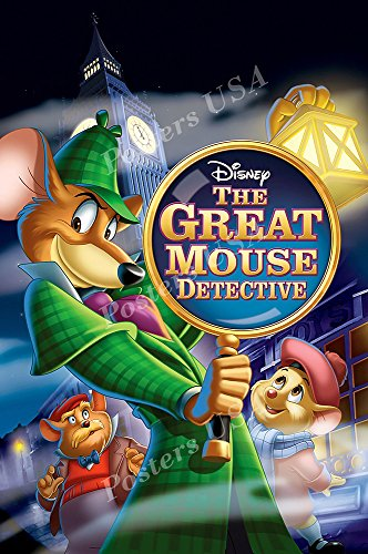 Posters USA - Disney The Great Mouse Detective Movie Poster GLOSSY FINISH - FIL098 (24