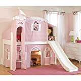Bolton Furniture Cottage Deluxe Low Loft Tent Bed