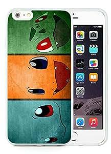 Fashion Designed Pokemon 5 White iPhone 6 Plus 5.5 Inch Phone Case