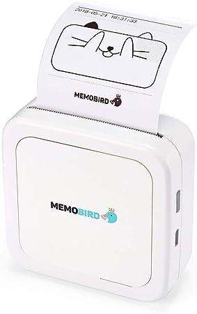 Compacto Bluetooth Inalámbrico Mini Móvil Portátil Pequeño Ligero térmica A4 Printe me