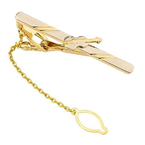 Clips de Corbata Dorados para Hombres Pin de Corbata Profesional ...