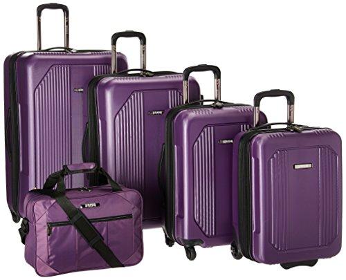 U.S Traveler Bloomington Carry-on 6-Piece Luggage Set – Purple Review
