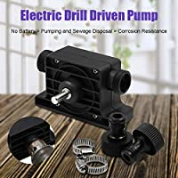 Suppyfly Portable Electric Drill Pump Self Priming Transfer