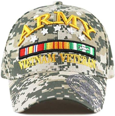 U.S ARMY hat cap Military ARMY Vietnam Veteran Official Licensed Baseball cap