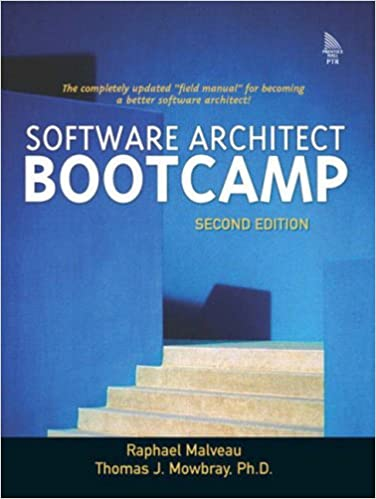 Book Software Architect Bootcamp (2nd Edition)