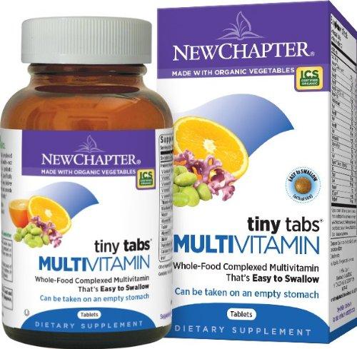 Nouveau Chapitre de Tiny Tabs multivitamines, comprimés 192