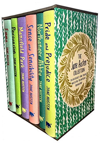 - Jane Austen Collection, Deluxe Box Gift Set: Containing: Pride and Prejudice, Emma, Sense and Sensibility, Persuasion, Mansfield, Northanger Abbey