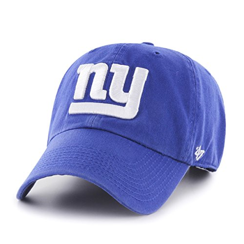 New York Giants Cap (NFL New York Giants 47 Clean Up (Royal, one size))