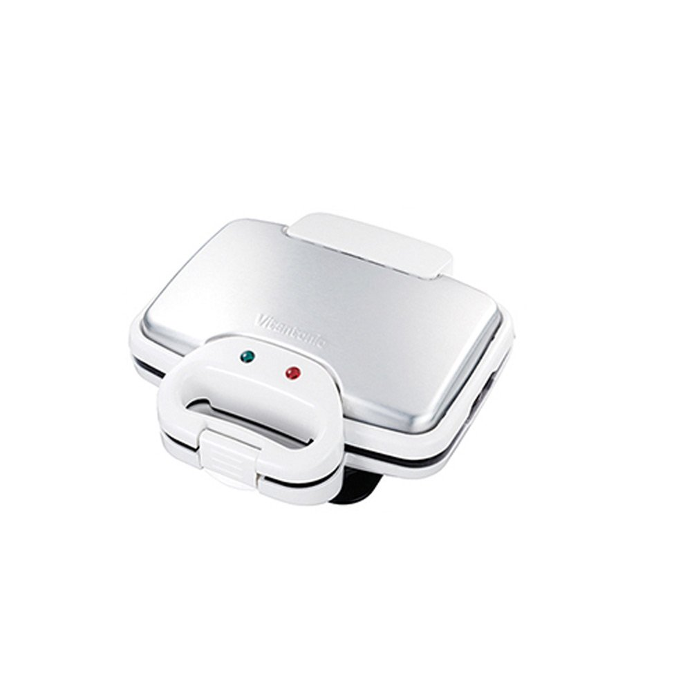Vitantonio WAFFLE HOT SANDWICH BAKER Irons White Color (Included 2 Plates)