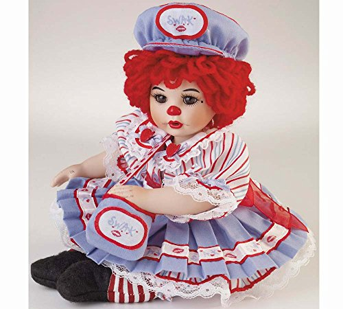 """Marie Osmond Sealed with A Kissy 5"""" Seated Tiny TOT Porcelain"""